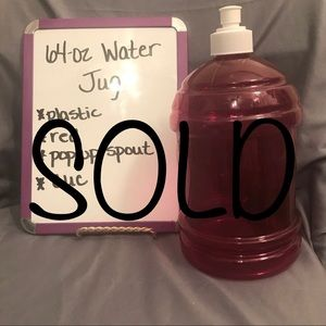 SOLD-Water Jug
